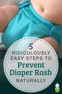prevent diaper rash naturally