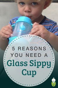 5 reasons you need a glass sippy cup