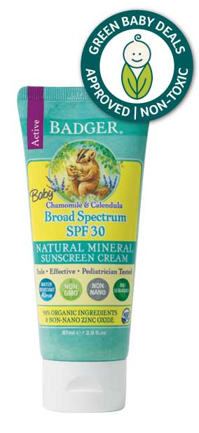 badger baby non-toxic best mineral sunscreen