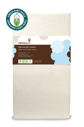 naturepedic lightweight classic organic crib mattress GBD approved