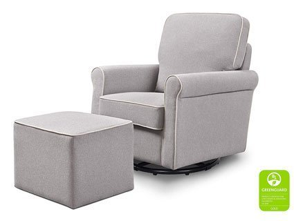 GreenGuard non-toxic nursing chair ottoman