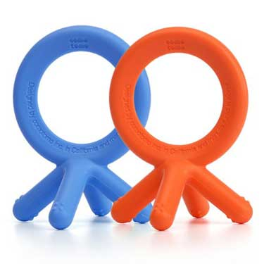 medical grade silicone non-toxic teething rings