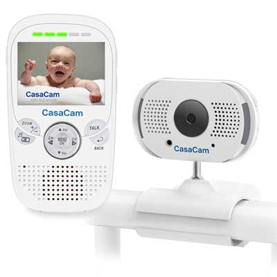 voice-activated baby video monitor casacam