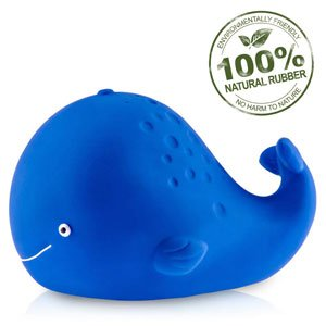 Kala the whale natural rubber bath toy