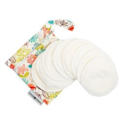 organic washable breast pads