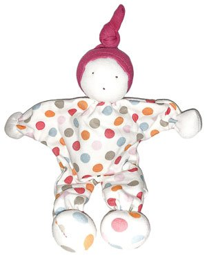 under the nile organic non-toxic scrappy doll